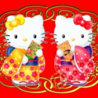 Happy Lunar New Year from Nom Nom Cat!