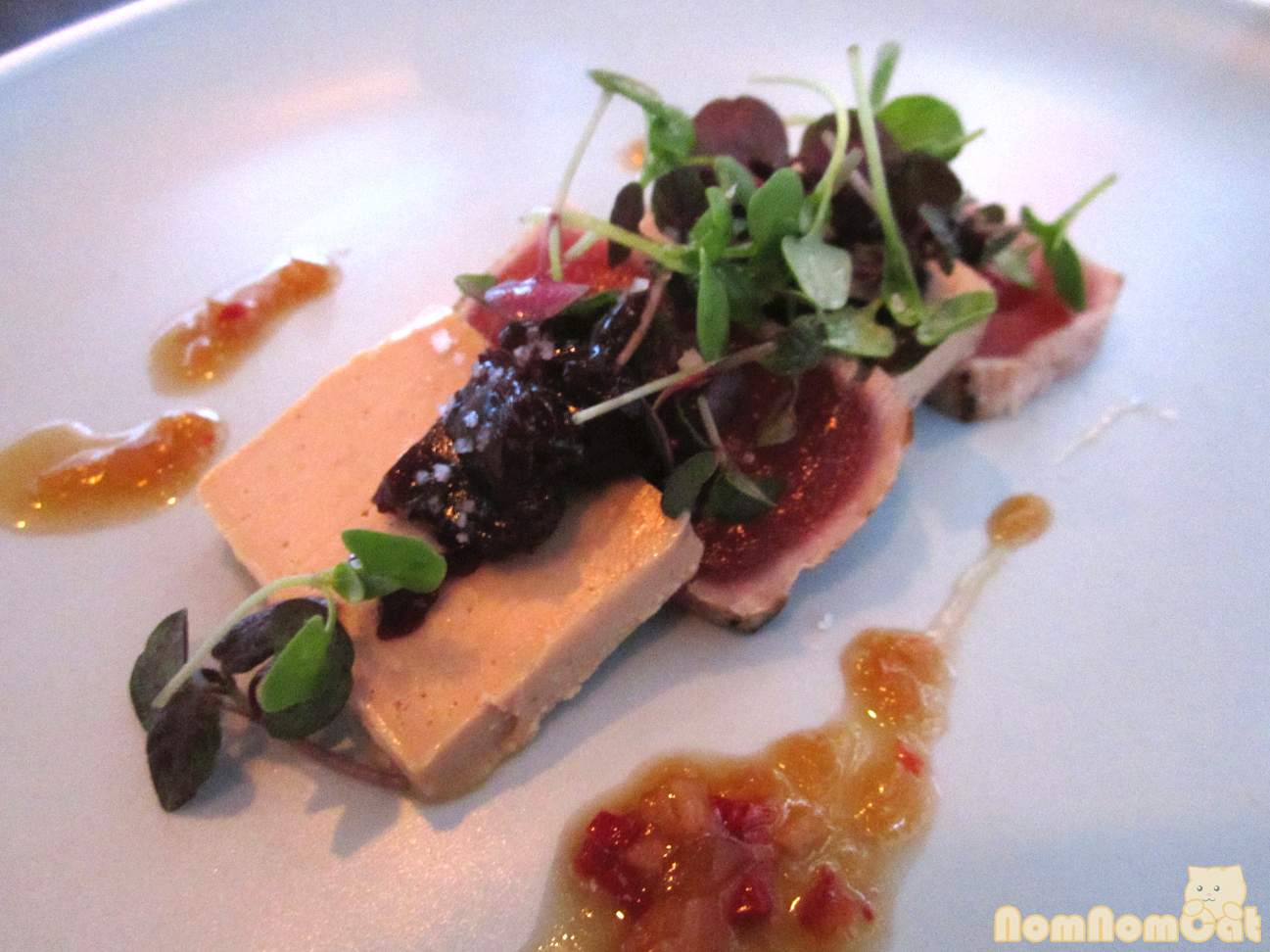 Ahi Tuna & Foie Gras Torchon