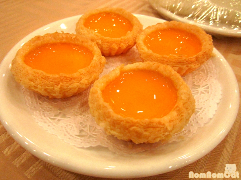Dahn Tat (Egg Tarts)