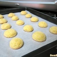 Limoncello & Semolina Cookies