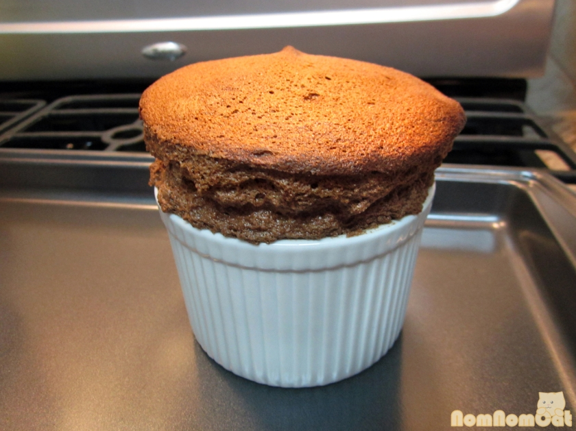 Voila! Chocolate souffle