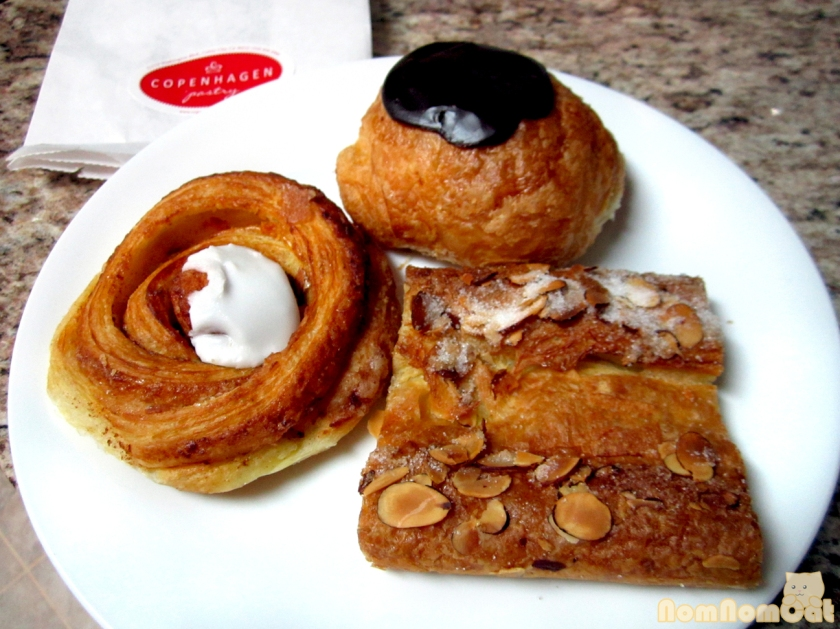 Cinnamon Pastry, Chocolate Pastry, Kringle