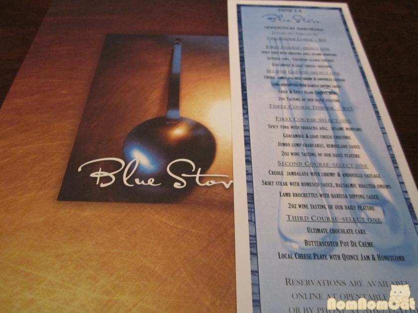Blue Stove