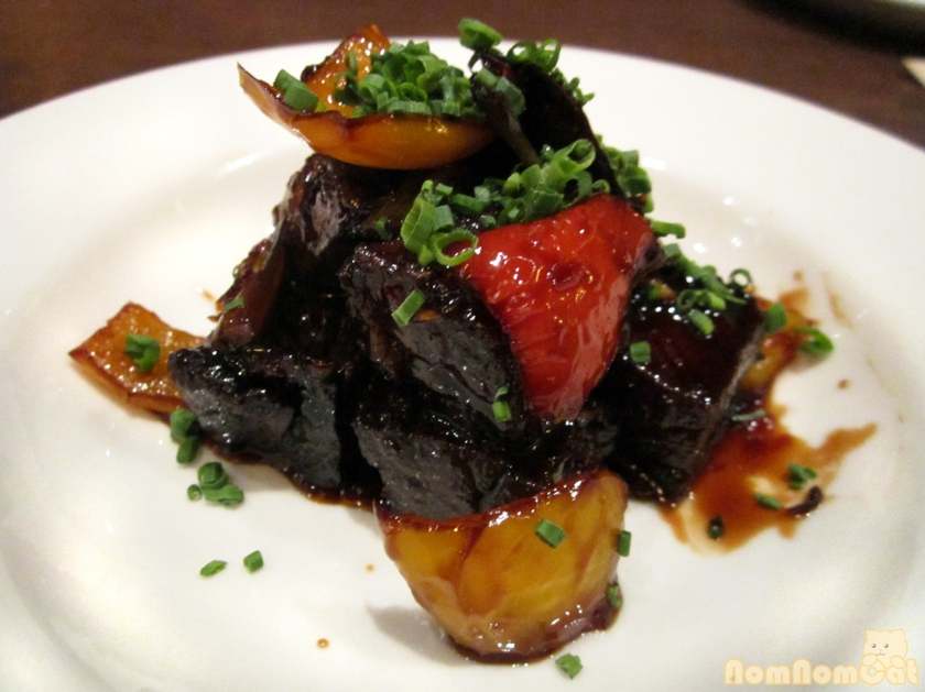Crispy Dark Cherry Beef