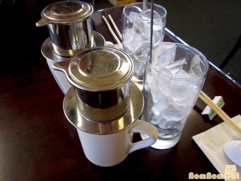 Vietnamese drip-style coffee