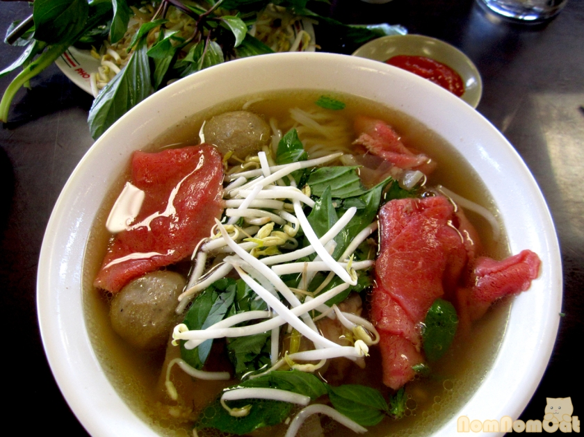 Beautiful bowl of pho!