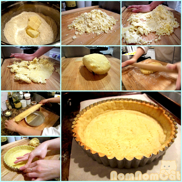 From sablage to fraisage - the tarte crust