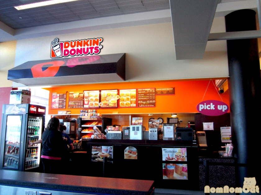 First thing we did in NH - visit Dunkin' Donuts