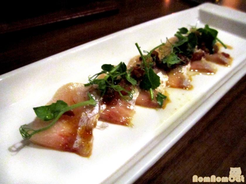 Course 1: Hamachi Toro Sashimi