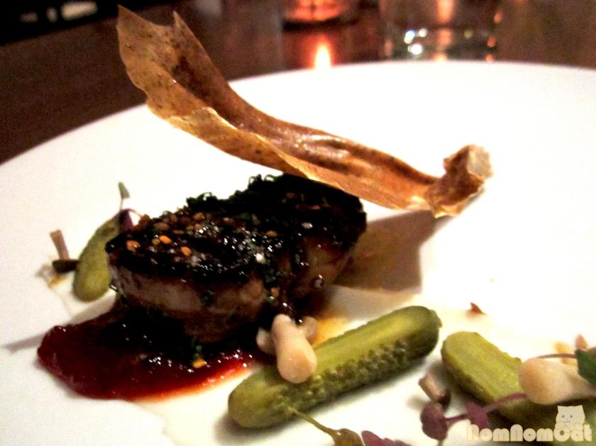 Course 6: Foie Gras Laquee