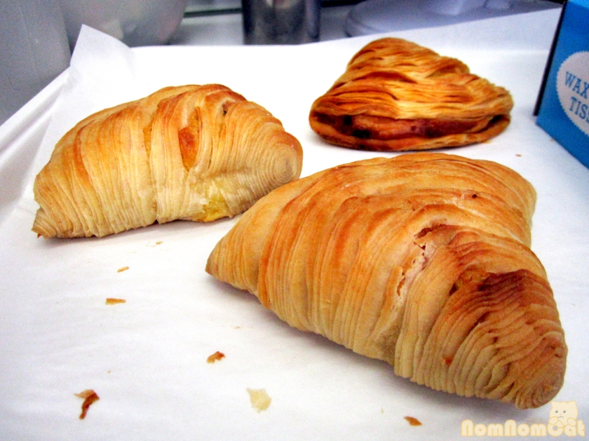 Ready-to-fill Sfogliatelle shells