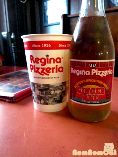Regina Pizzeria - House Ginger Ale