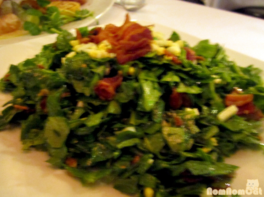 Chopped Spinach Salad