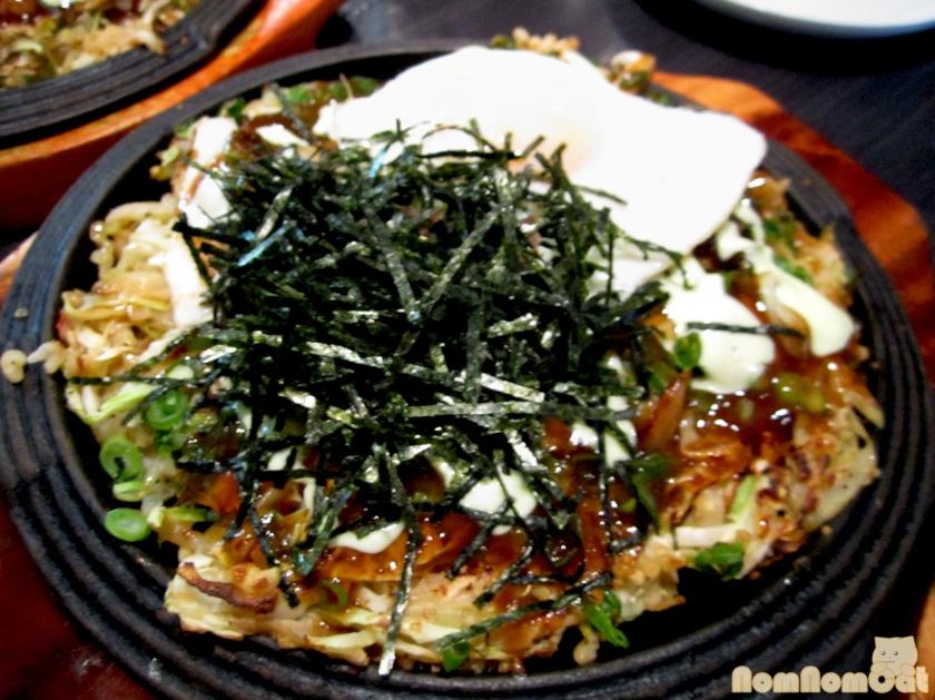 Trio Mushroom Okonomiyaki