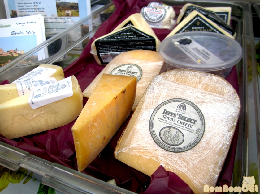 Fancifull Artisanal Cheeses and Salami