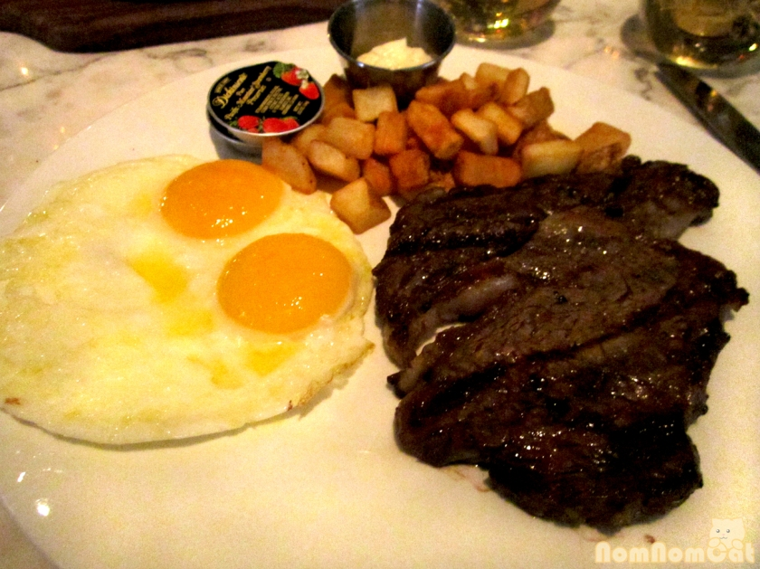 Steak and Eggs!
