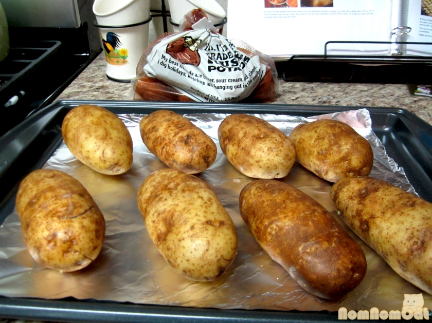 Potatoes: ready for the oven