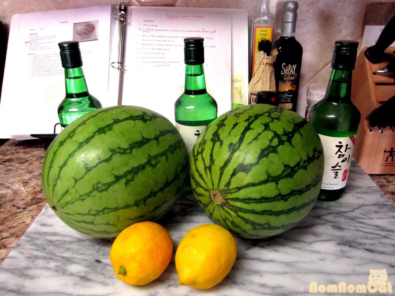Friday Fun: Soju Watermelon | nom nom cat