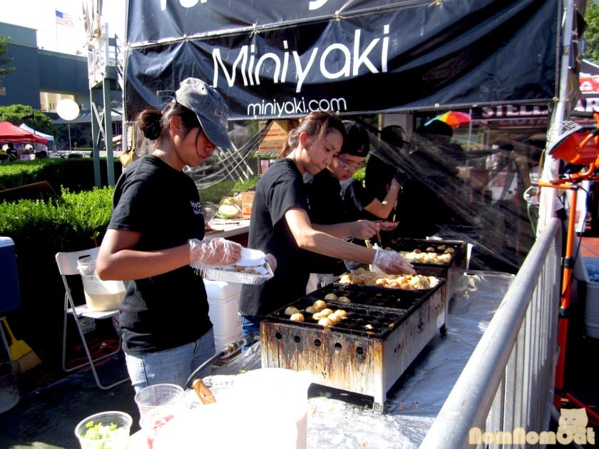 Takoyaki and Okonomiyaki!