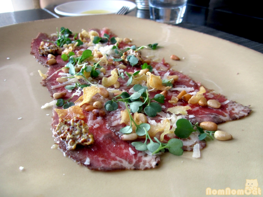 Marinated Beef Carpaccio