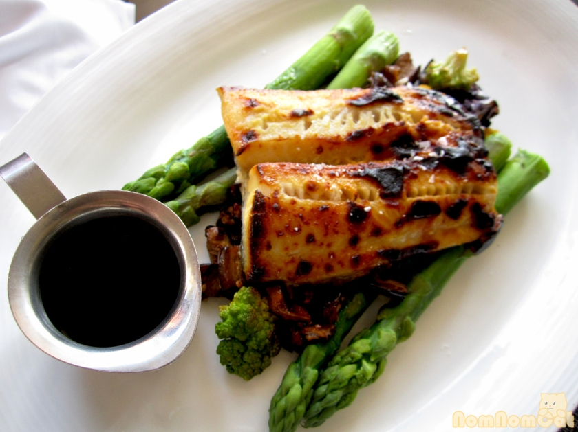 Mustard Marinated Black Cod