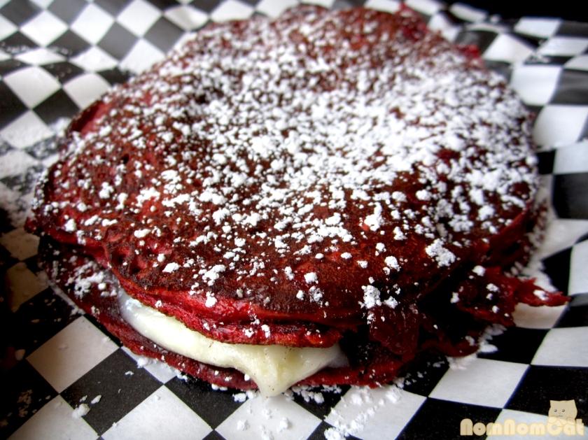 Red Velvet Pancakes... serendipity
