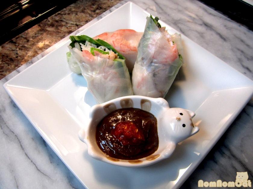 Goi cuon (spring rolls)
