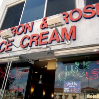 Saffron & Rose Ice Cream - Westwood, CA