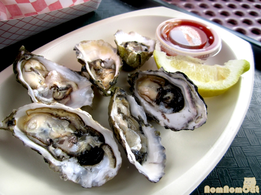 Grassy Bar Oysters on the Half Shell