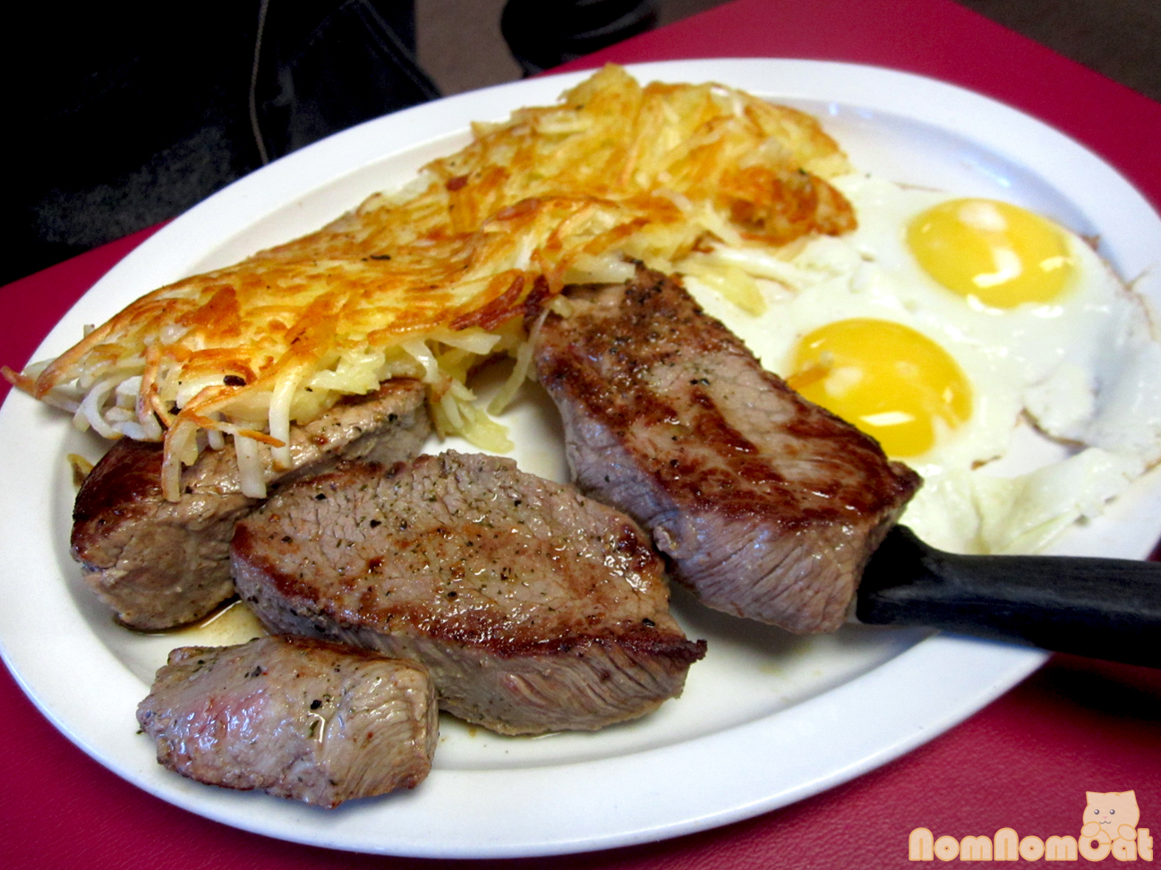steak and eggs – nom...