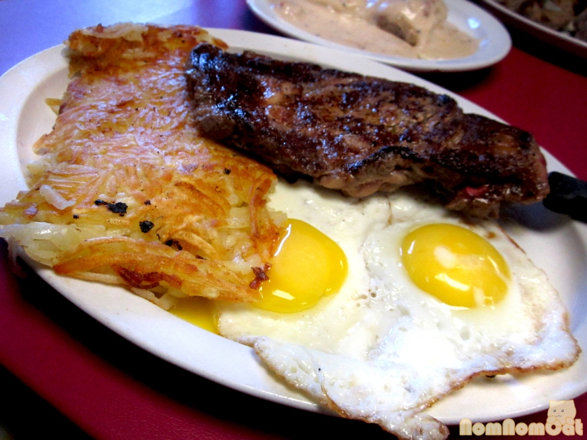 Alice's Rib Eye Steak & Eggs