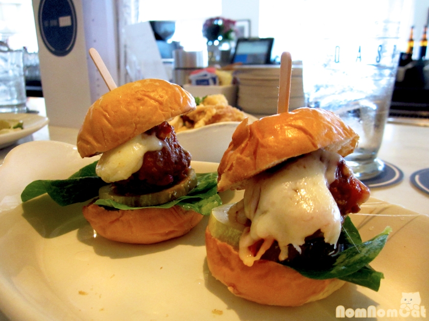Meatball Sliders with Provolone - $6