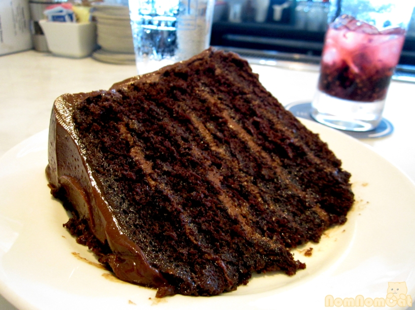 Old Fashioned Six Layer Chocolate Cake - $10 a slice