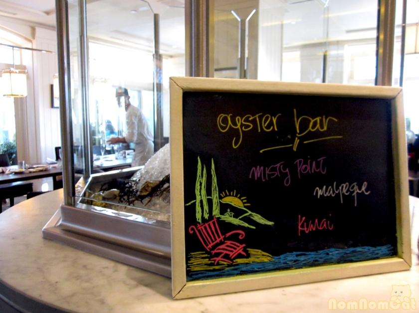 Oyster Bar Chalkboard