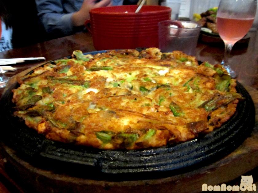 Haemul Pajun - Seafood Pancake