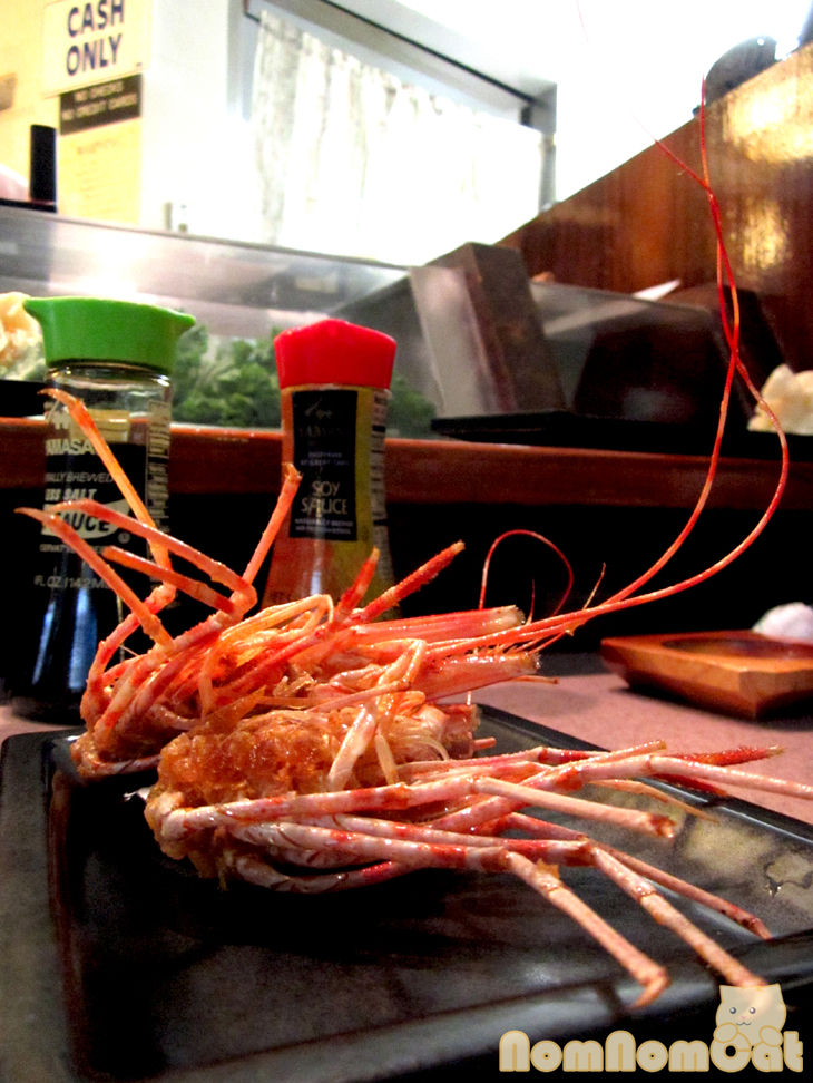 Amaebi no Tama (Fried Shrimp Heads)