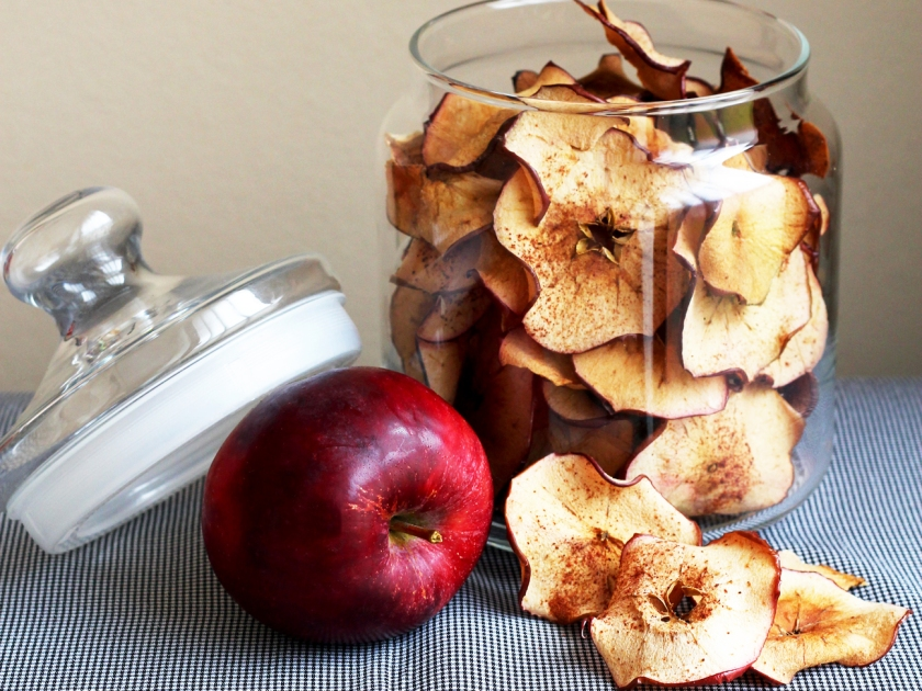 apple chips crop