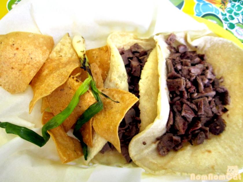 Tacos - Lengua and Carne Asada