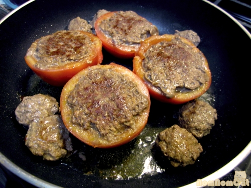 Seared Tomatoes