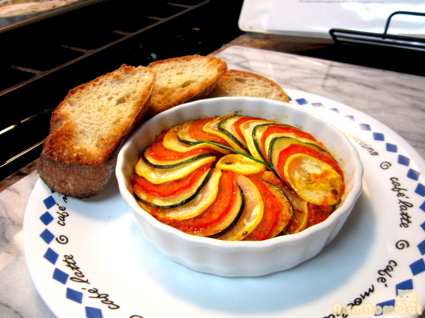 Ratatouille Version I - the final product