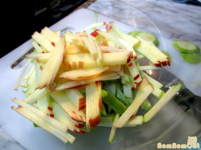 Time for Apple Salad!
