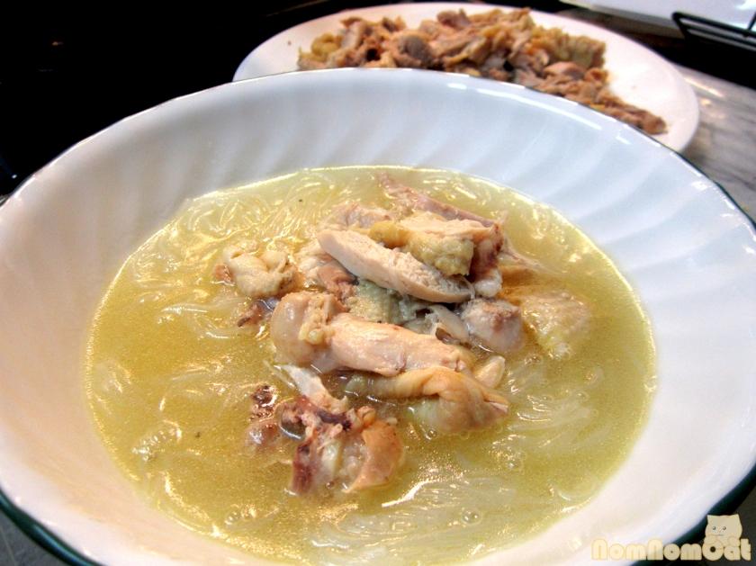 Vietnamese Chicken and Glass Noodle Soup (Miến Gà)
