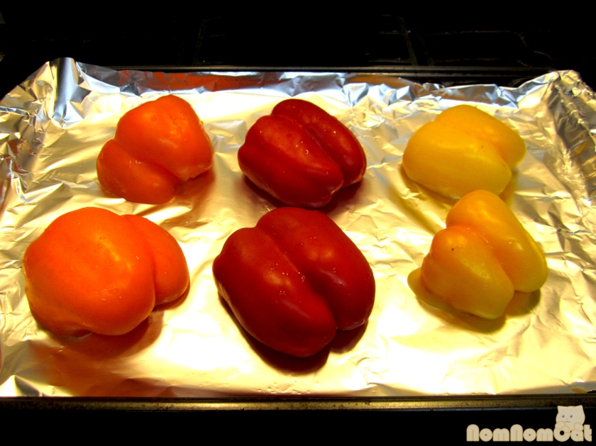 Roasted Peppers (Before)