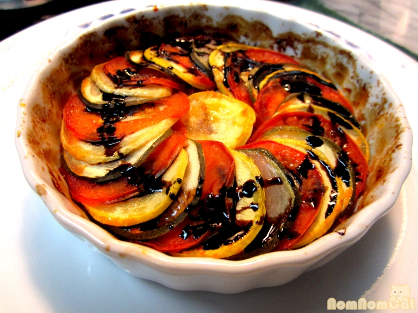 Thomas Keller's Confit Byaldi (aka The Ratatouille from Ratatouille)