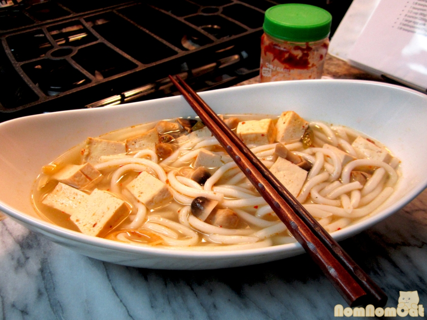 Tom Yum with Tofu