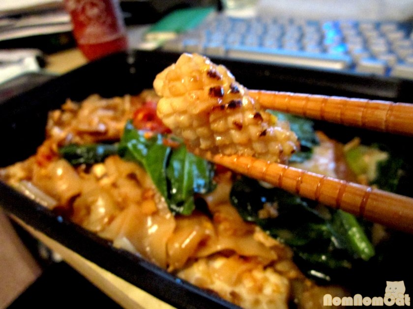 Pad See Ew with Squid