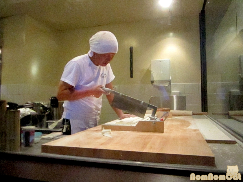 Hand-cutting the Noodles