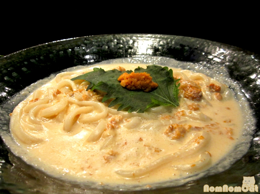 Uni (Sea Urchin) Cream Udon