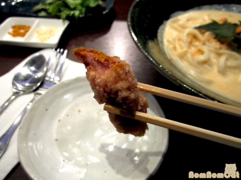 Chicken Karaage - a closeup