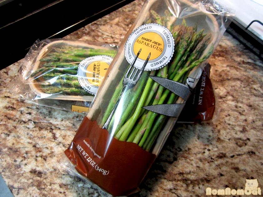 Warm Asparagus Salad Ingredients: